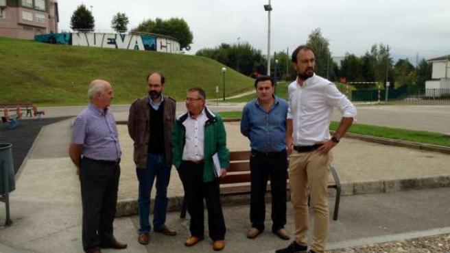 Visita al parque infantil de Nueva Ciudad en Torrelavega