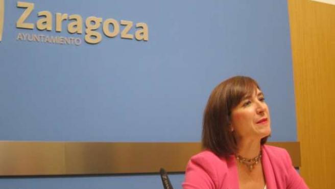 La portavoz de C's, Sara Fernández