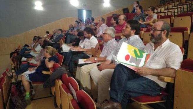 Jornadas municipales de IU en Zalamea la Real (Huelva)