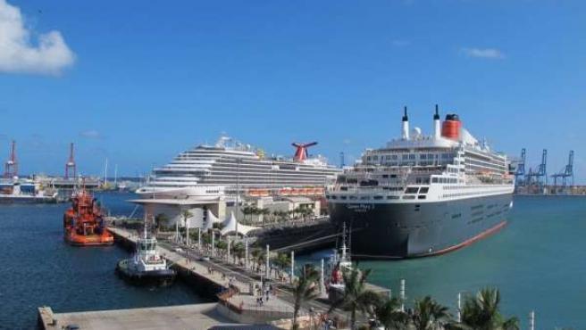 Cruceros en Las Palmas de Gran Canaria.