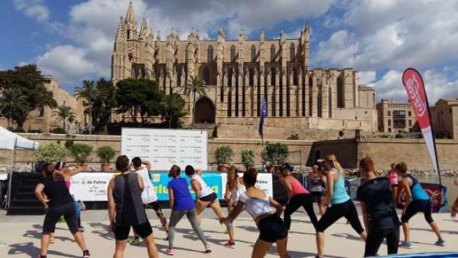 Feria deportiva FitSalut Palma 2015