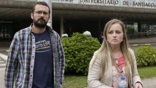 Antonio Lago y Estela Ordóñez, los padres de Andrea