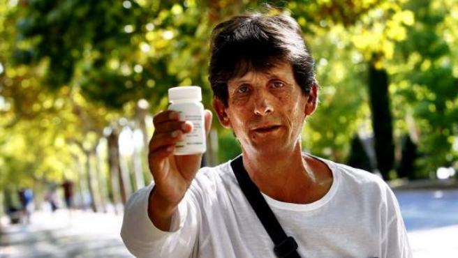 Saturnino, un madrileño que ya ha recibido el medicamento contra la hepatitis C.