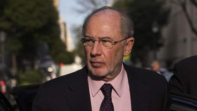 El exvicepresidente del Gobierno, Rodrigo Rato.