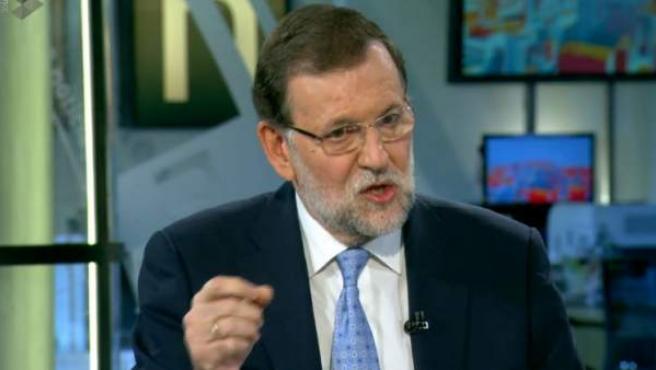 Rajoy confirma en una entrevista televisiva que las elecciones generales se celebrarán el 20 de diciembre.