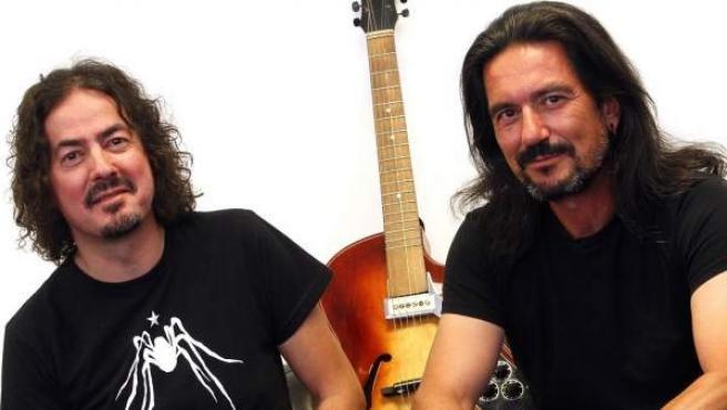 Pedro Andreu (izquierda) y Joaquín Cardiel (derecha)