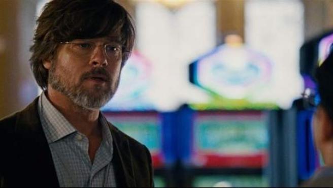 Brad Pitt en 'La Gran Apuesta'.