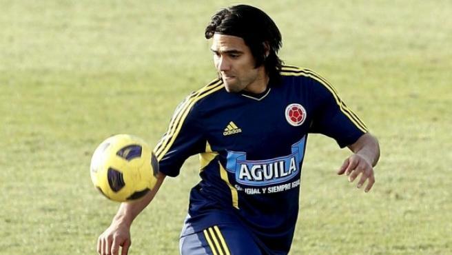 Falcao, con Colombia.