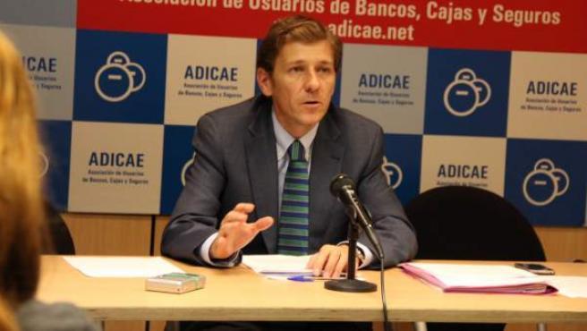 Fernando Herrero, secretario general de ADICAE
