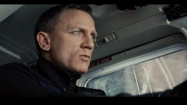 Daniel Craig como James Bond, en Spectre.