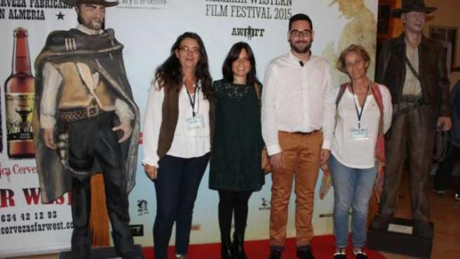 Preestreno de Deuda de Honor en el Almería Western Film Festival