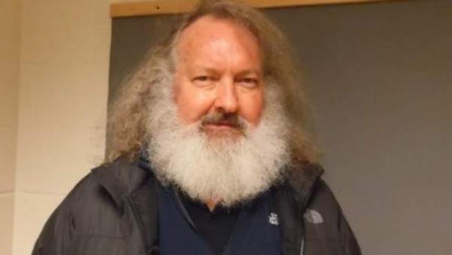 Foto de Randy Quaid tras ser detenido en Vermont, Estados Unidos.