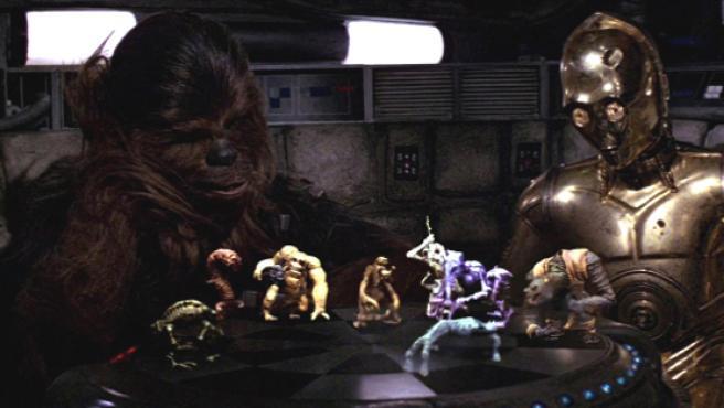 El ajedrez holográfico de 'Star Wars', construido por un fan