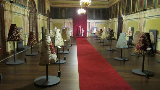 Exposición Mantos de Nuestra Señora del Pilar, en Zaragoza