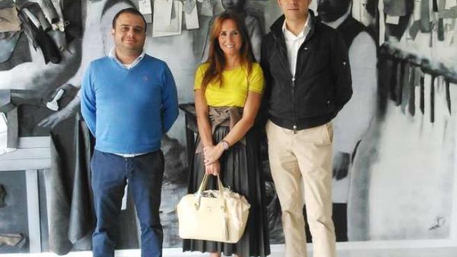 La degada de Economía en Cádiz, Gema Pérez, visita Invercumbre