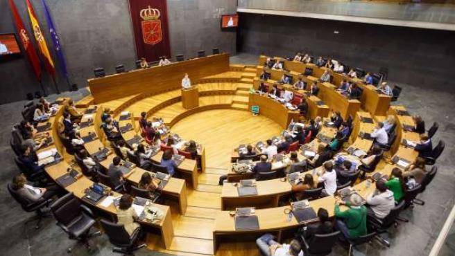 Torneo de Debate de Bachillerato en el Parlamento de Navarra.