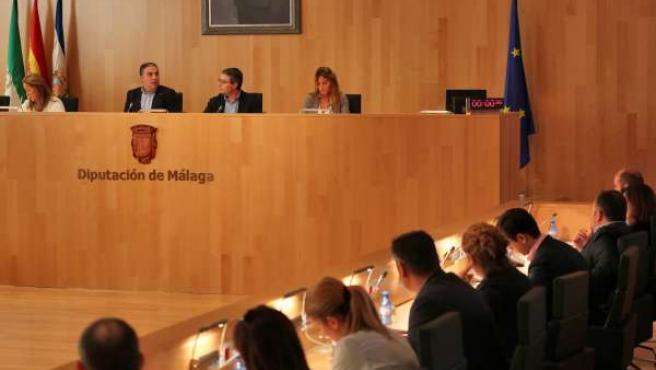 Pleno extraordinario de Diputación de septiembre