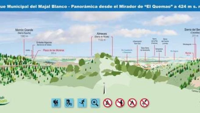 El Ayuntamiento de Murcia renueva los miradores del Majal Blanco