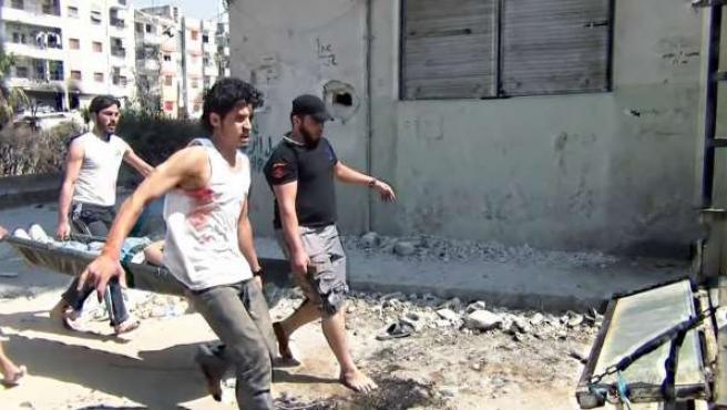 """La Fundación Araguaney Puente De Culturas Proyecta """"Return To Homs"""", Un Document"""