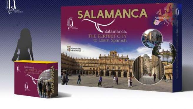 Demo del expositor de promoción de la enseñanza del español de Salamanca
