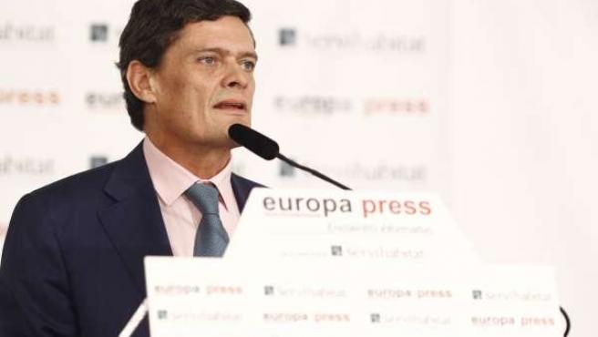 El presidente de la Sareb, Jaime Echegoyen, en los Desayunos de Europa Press