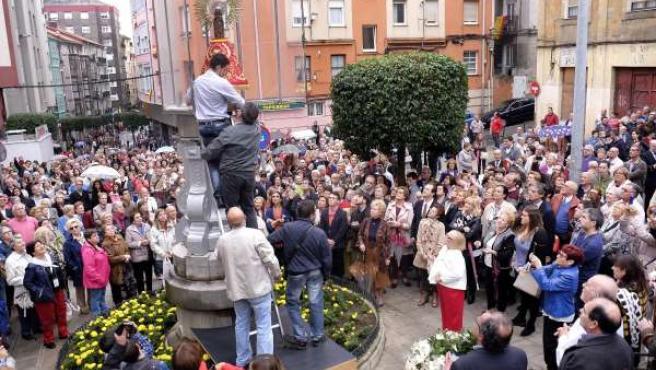Fiestas del Pilar en Perines