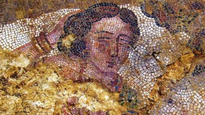 La cabeza de Ariadna de la villa romana de Camarzana de Tera