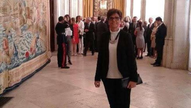 La presidenta de la Asamblea Regional de Murcia, Rosa Peñalver