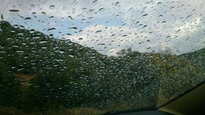 Lluvia leve en Andalucía
