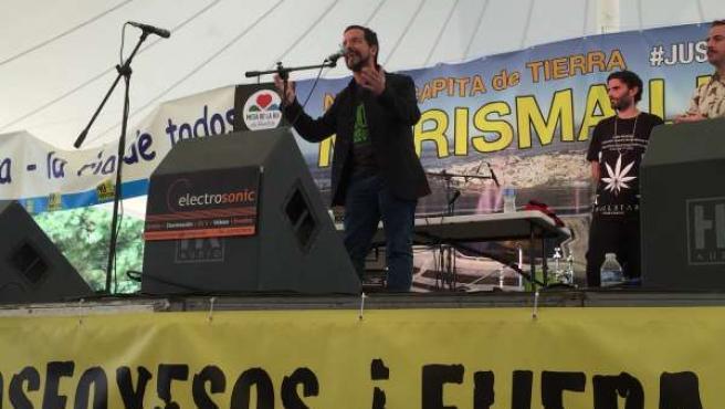 Sergio Psacual durante el acto en Huelva