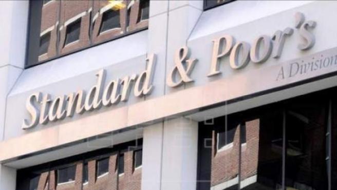 Oficinas de Standard & Poor's en Nueva York, EE UU.