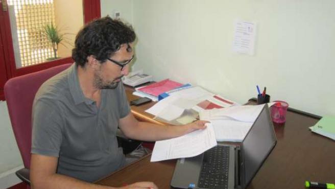 El concejal de Ahora Murcia, Luis Bermejo