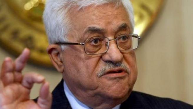 El presidente de la Autoridad Nacional Palestina, Mahmud Abbas.