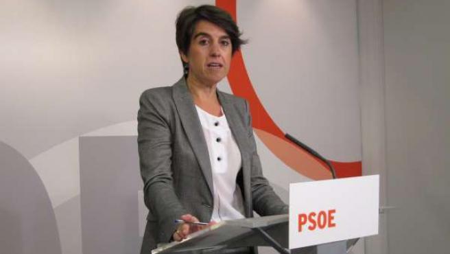 La diputada del PSOE, Nuria del Río, presenta PNL Salud