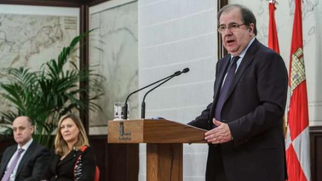 Juan Vicente Herrera presenta los presupuestos de 2014