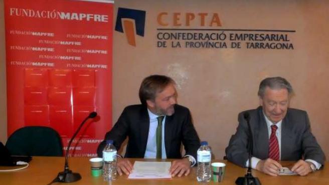 Joaquim Teixidó (Mapfre) y J.L.García (Cepta)