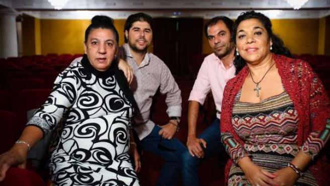 Tía Juana 'La del Pipa' y Tomasa 'La Macanita' en los Jueves Flamencos