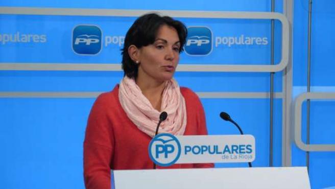 La diputada del PP Raquel Sáenz analiza seguros agrarios