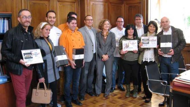 Entrega premios del I Concurso de Pinchos con corazón