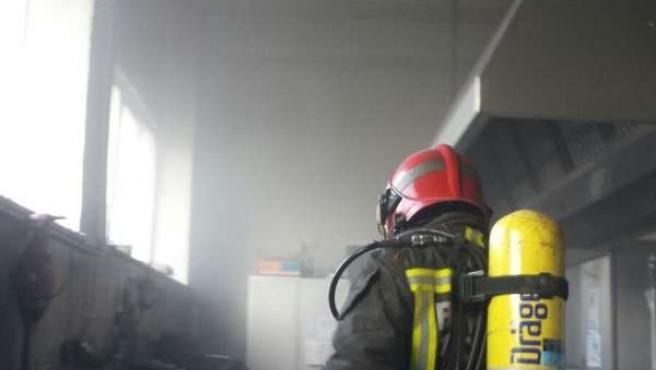 Incendio en la cocina del colegio de Selaya