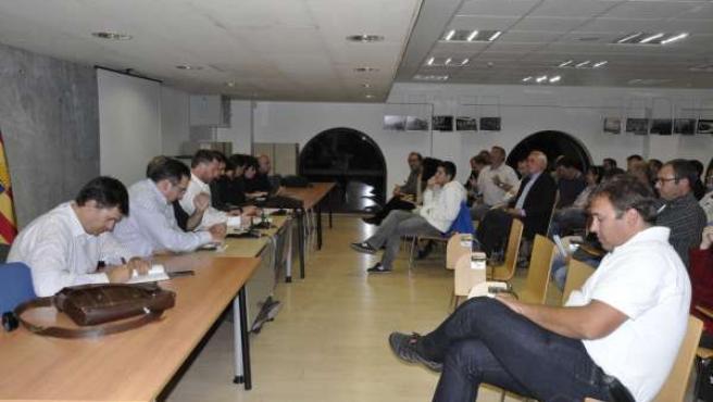 Reunión del Comité Nazional de CHA.