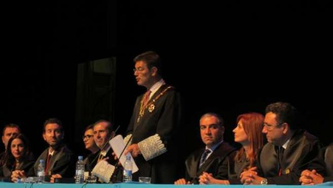Rafael Catalá en acto del Colegio de Abogados de Málaga