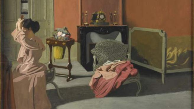 Uno de los cuadros vanguardistas pertenecientes a la exposición El triunfo del color, que se expone en la sede de la Fundación Mapfre de Barcelona