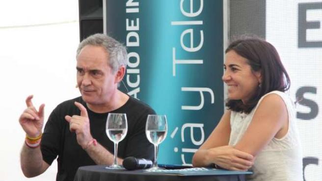 Ferran Adrià telefónica exposición innovation space