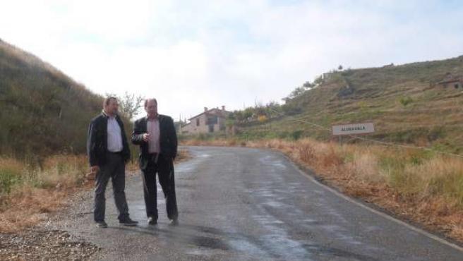 La DPT mejorará la carretera que une Castralvo y La Aldehuela