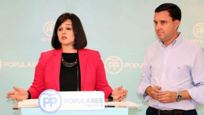 Virginia Pérez y Juan de la Rosa