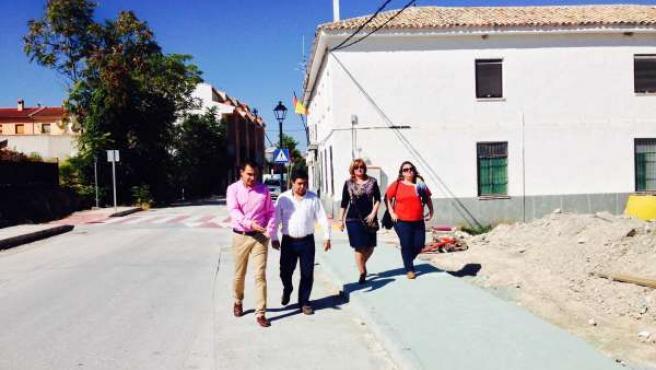 Visita de Francisco Reyes a Fuerte del Rey