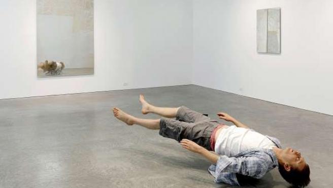 Muestra de escultura hiperrealista