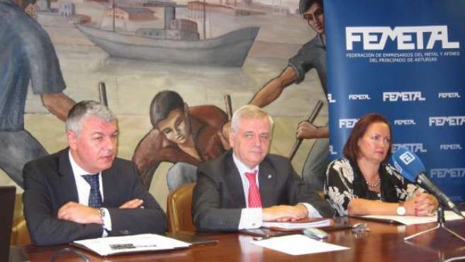 Belarmino Feito, Guillermo Ulacia, María Pérez