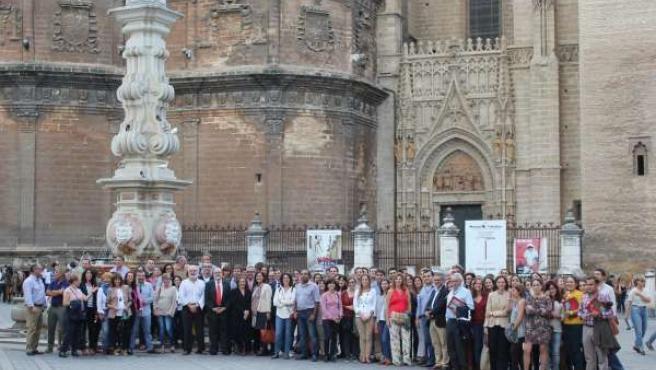 Asistentes al curso Antibióticos y resistencias organizado por UIMP en Sevilla